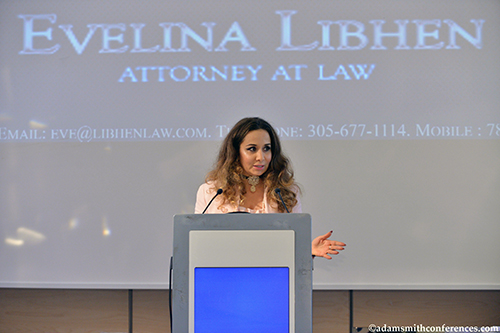 Evelina Libhen at Legal Forum